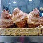 Giant croissants
