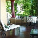 Great porch for relaxing in Lancaster County PA