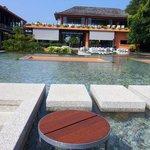 Main pool & lounge area