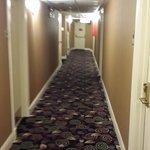 Corredor do hotel