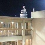 Capitolio visto desde el hotel