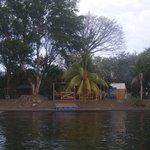 Center communautaire, vu du lac