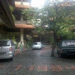 Entrada/estacionamento