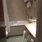 Sparkling clean bathroom