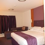 Our room, spacious and comfortable