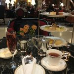 high tea at the brown palace hotel