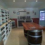 Loja de vinho.