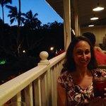 Veranda dining at Plantation Gardens