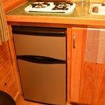 Refrigerator in Cottage