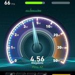 Pretty Good WiFi Speed in room 215