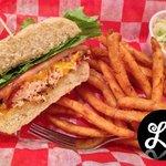 Blackened Salmon Sandwich