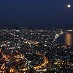 満月の夜景