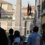 Via del Babuino, heading towards Piazza del Popolo