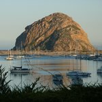 Morro Rock at Sunrise   CJ Woodland