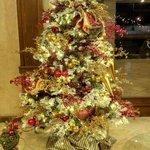 Lobby navideño