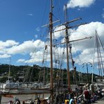 R Tucker Thompson visited the Town Basin Whangarei