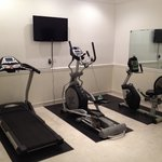 Exercise room. Could not get treadmill to work , but all. 3 items looked new