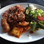 Meatball, Sausage, Ravioli  all homemade