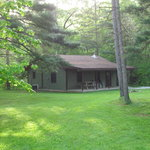Enjoy quiet seclusion in your cabin tucked away in the woods.  Near Starved Rock State Park.