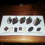 In room chocolates $15