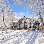 冬のメインエントランス Main Entrance in winter
