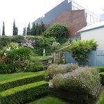 Garden up hill