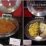 黄金の南インドの朝食サンバルとイドゥリ でもここ北インド!