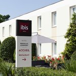 Entrée De l'Hôtel Ibis Bordeaux Aéroport Mérignac