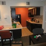 Huge kitchen area.