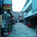 Narrow street to Rico's from Bangla Road
