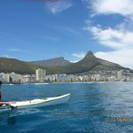 Lions Head and Table Mountain from the sea