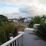 Terrasse: Blick Richtung Südwesten