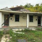 Devastated home