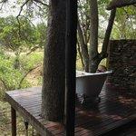 Hardekool outdoor bathtub
