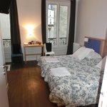 Zimmer mit Einzelbetten