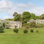 Views of the house, church and park at Boconnoc