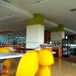 The restaurant on the 2nd floor
