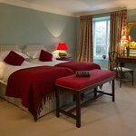 Recently refurbished bedroom in the main house