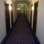 Dark & Dated Hallway