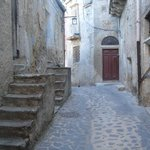 Quaint streets of Burgio