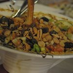 Salad with dry fruit
