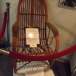 Amelia Earhart's chair