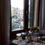 Breakfast room view