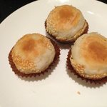 Dessert: Cakes filled with sweet Chinese dates (jujube)