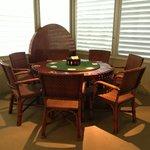 Truman's poker table