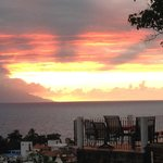 Sunset at HSA