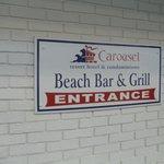 Head to the Beach Bar!