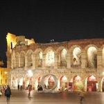Arena di Verona at night