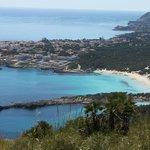 Hôtel S'entrador Playa vu de la Talaia de Son Jaumell