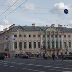 Palacio Strogonof ( monopolio de la sal en rusia)